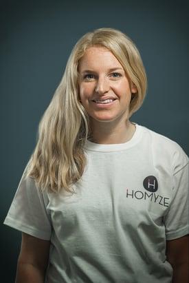 A photo of a Homyze helpdesk operative